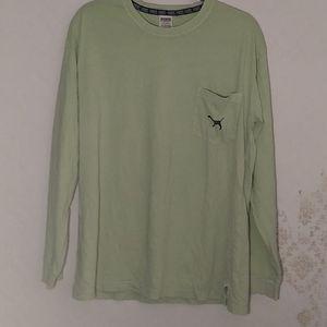 Green Long Sleeve Shirt